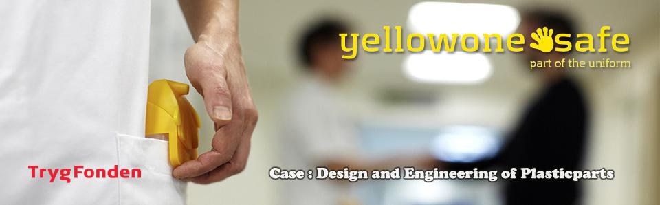 Dispenserdesign for Yellowone-handsafe.com