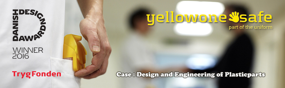 Industrielt Design for Yellowone-handsafe.com